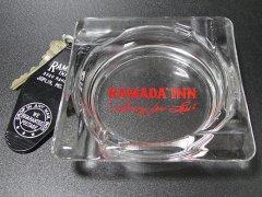 ★70'sアメリカンホテル ラマダ・インガラス製ヴィンテージ灰皿