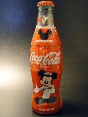 ★2003年アメリカ コカ・コーラ社ミッキーマウス生誕75周年記念ボトル