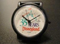 ★90'sアメリカディズニーランド35周年記念腕時計1990年製