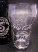 ★70'sアメリカ エリザベスタウン・コカコーラボトリング75周年記念グラス1976年製