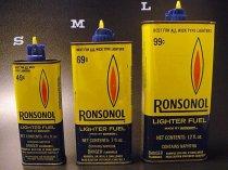 ★70'sロンソン・ノールRONSONOLオイル缶(空き缶)各種サイズ