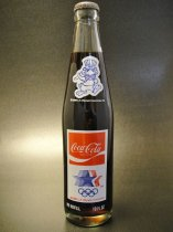 ★80'sアメリカコカ・コーラ・ロサンゼルスオリンピック記念ボトル1984年製