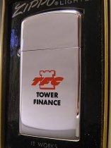 【送料無料】★70'sジッポーZippoアメリカ金融会社TFCノベルティスリムライター未使用1972年製