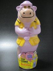 ★70'sハンナ バーベラキャラクター・ピーター ポタモス/かばのガバチョ貯金箱ソーキーボトル
