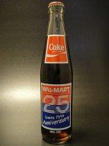 ★80'sアメリカンスーパーマーケット・ウォルマート創業25周年記念コカ・コーラボトル1987年製
