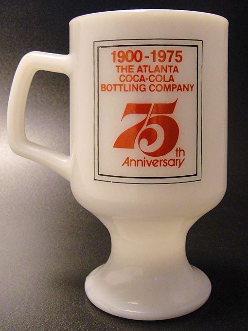 ★70'sフェデラル製アトランタ・コカ・コーラ75周年記念フッテッドマグ