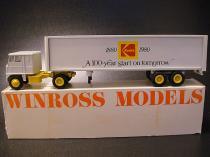 ★80'sアメリカコダック社創業100周年記念ウィンロス製ミニチュアトラックトレーラー