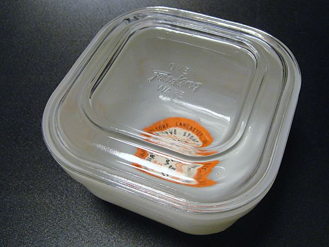 ★50'sファイヤーキング製リフリジレイター保存容器未使用ラベル付