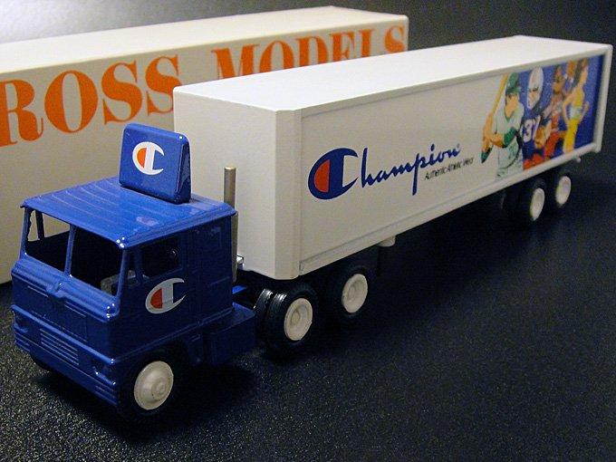《送料無料》★80's ウィンロス社Championチャンピオン・ミニチュアトラックトレーラー