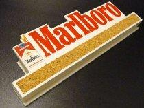 ★70'sアメリカンショップ マルボロタバコ広告メモクリップ&コルクボード