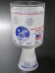★70'sスペースグラス・アポロ11号月面着陸記念グラスタンブラー