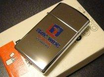 ★70'sジッポーzippoアメリカ不動産会社ノベルティスリムライター未使用箱付1979年製