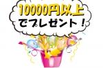 10000円以上お買い上げでプレゼント!