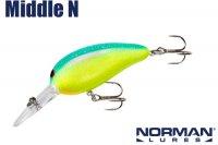 ノーマン ミドルN (NMMN 181)Chartreuse Blue