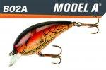 モデルA<br>1/4oz(B02A XC4)DARK BROWN CRAWDAD