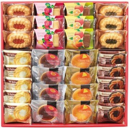 ティースマイルセット30個 ロシアケーキ 中山製菓 お菓子 詰め合わせ お歳暮 贈答品 TSM-30[4]