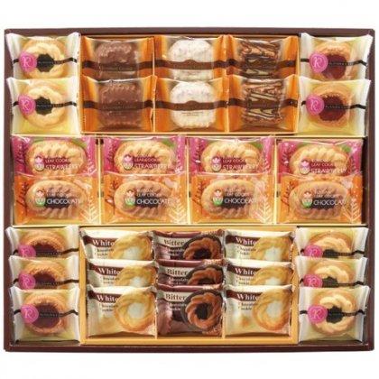 ロシアケーキファミリーセット33個 ロシアンケーキ 中山製菓 お菓子 詰め合わせ お歳暮 贈答品 RFS-30[4]