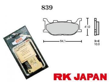 FINE ALLOY 55 PAD 839/RK-839-FA5