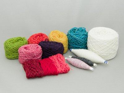 初めてオーバーショットを織る人のための糸セット