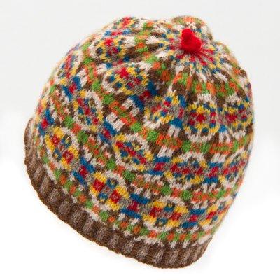 フェアアイル編込み帽子キット