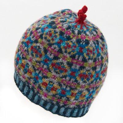 フェアアイル編込み帽子キット_02