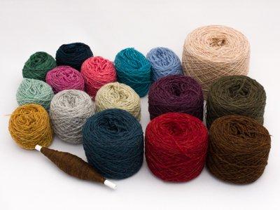 綾織りベースの組織サンプル