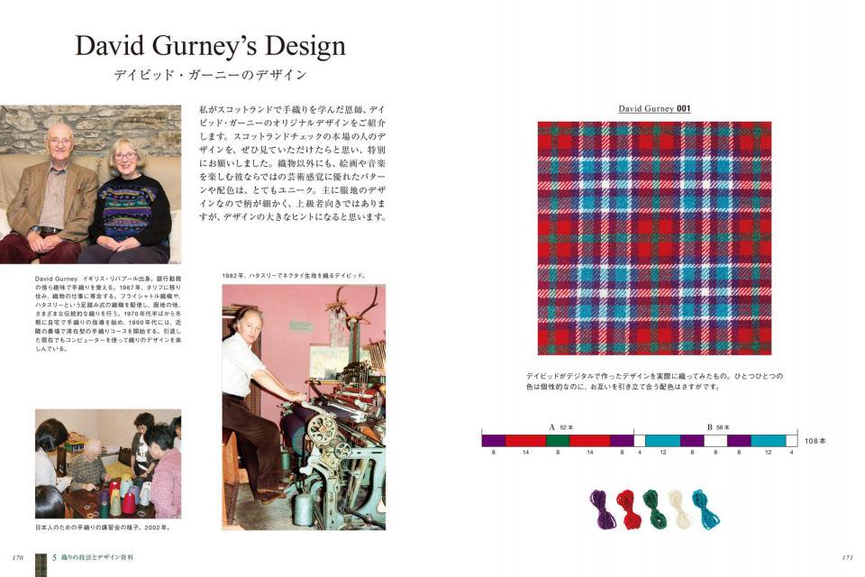 Tartan & Tweed 手織りのためのスコットランドチェック_04
