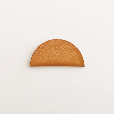 irose イロセ protractor coin case / nude