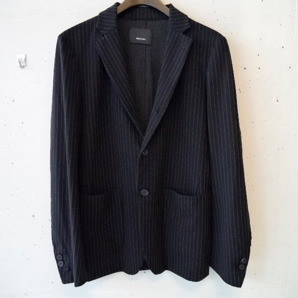 08 sircus (ゼロハチサーカス) technical jersey stripe jacket