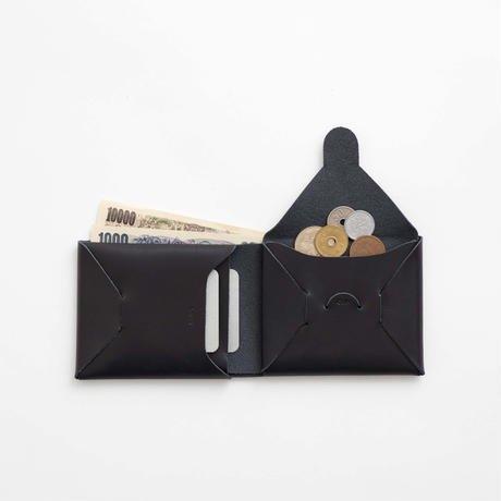 irose イロセ seamless short wallet black 機能は必要最小限