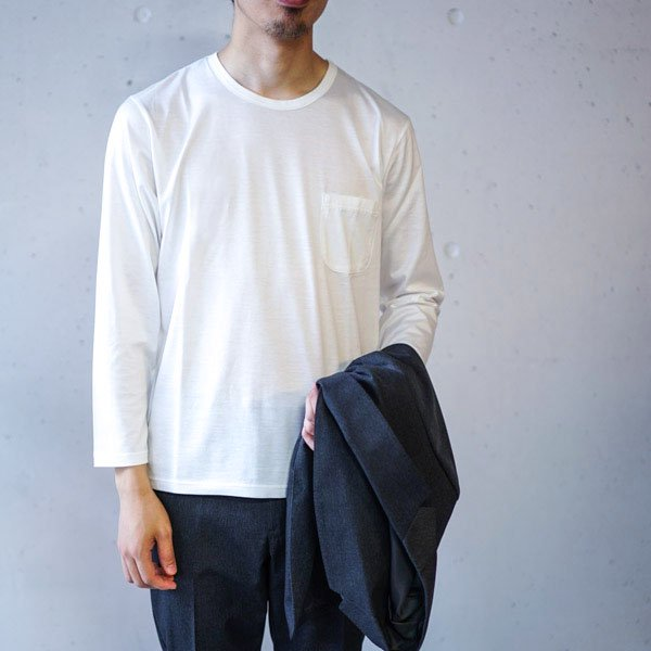 La Barba(ラバルバ) Jacket Inner T-shirt(ジャケットインナーTシャツ)