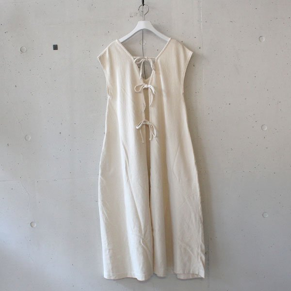 R JUBILEE(アール ジュビリー)BACK RIBBON DRESS Offwhite