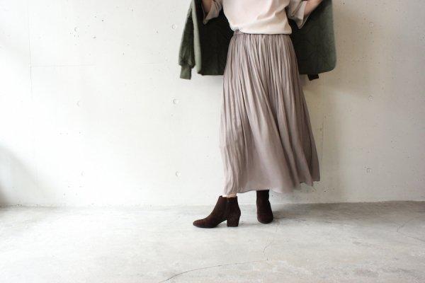 La Barba(ラバルバ) ヴィンテージサテンスカート