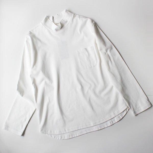 La Barba(ラバルバ) Jacket Inner T-shirt mockneck (ジャケットインナーTシャツモックネック)