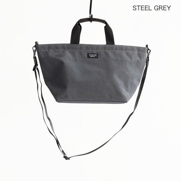 STANDARD SUPPLY(スタンダードサプライ)SIMPLICITY PLUS / 2WAY B TOTE XS / STEEL GRAY
