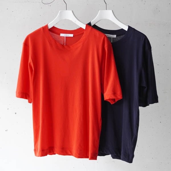 CINOH(チノ)HARD TWIST JERSEY COMPACT T-SHIRT