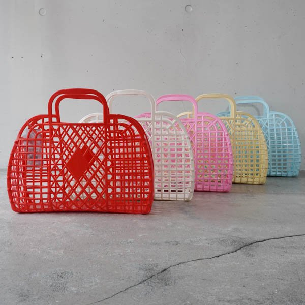 SunJellies(サンジュエルズ ) Retro basket LARGE