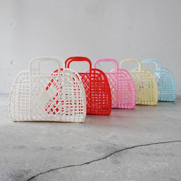SunJellies(サンジュエルズ ) Retro basket SMALL