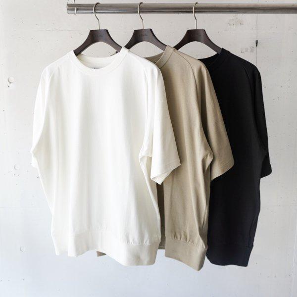 La Barba(ラバルバ)  Dress Rib T-shirt(ドレスリブTシャツ)