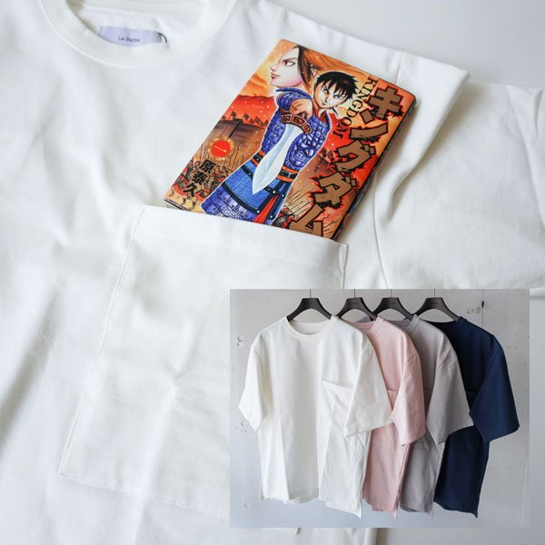 La Barba(ラバルバ)   Kingdom T-shirt(キングダムTシャツ)