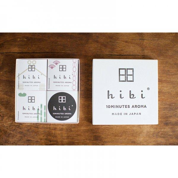 hibi(ヒビ) 和の香り3種ギフトボックス