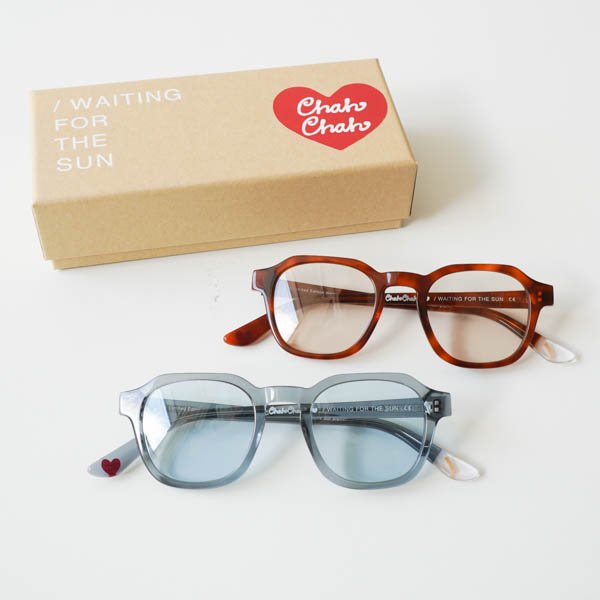 WAITHING FOR THE SUN(ウェイティングフォーザサン) WAITING FOR THE SUN × Chah Chah Special collaboration EYEWEAR