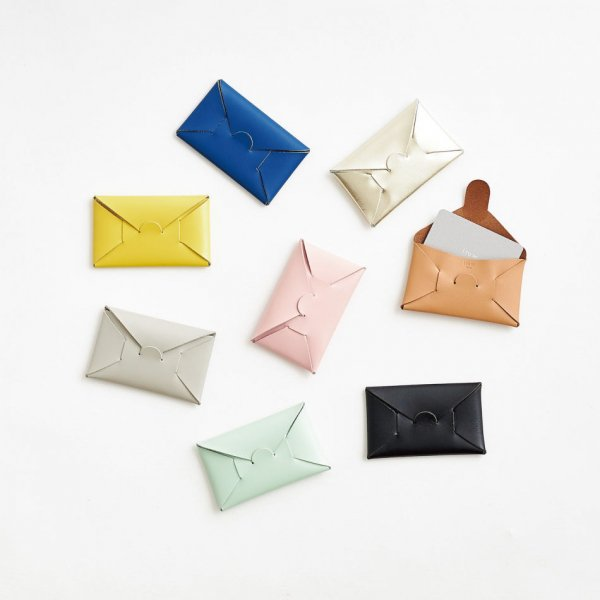 irose (イロセ) SEAMLESS CARD CASE (9 colors)