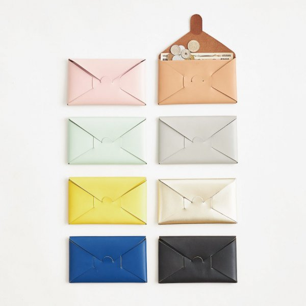 irose (イロセ) SEAMLESS LONG WALLET (9 colors)