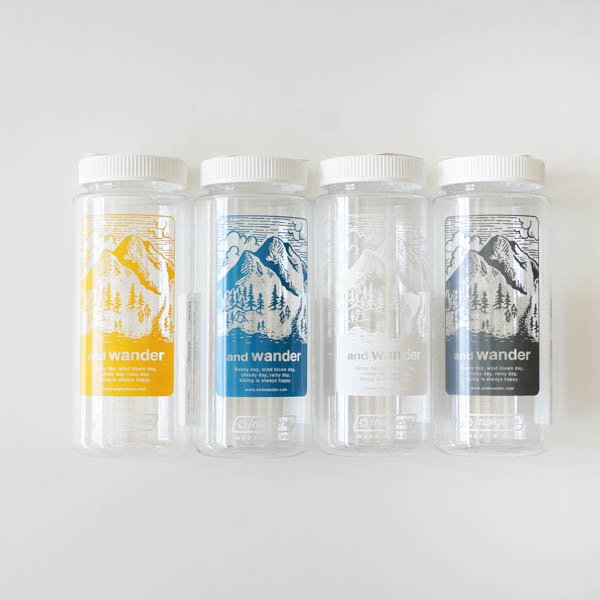and wander(アンドワンダー) nalgene bottle<img class='new_mark_img2' src='https://img.shop-pro.jp/img/new/icons4.gif' style='border:none;display:inline;margin:0px;padding:0px;width:auto;' />