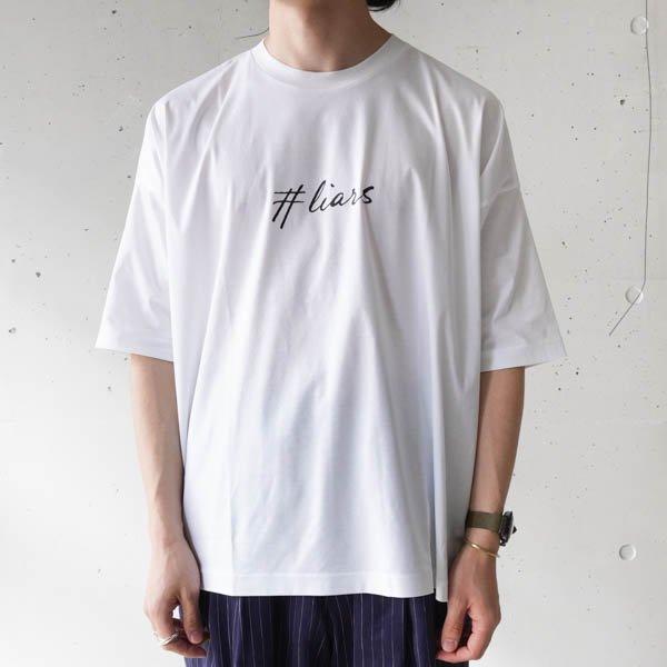 TAAKK (ターク) #LIARS GRAPHIC T-SIRT #LIARSグラフィックTシャツ