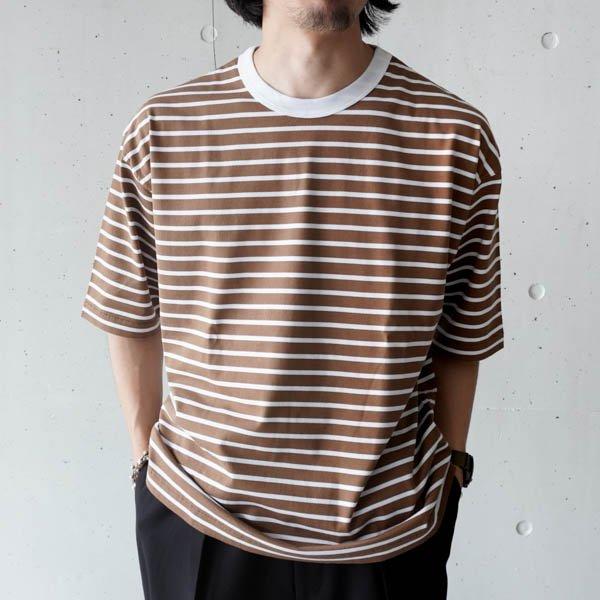 STILL BY HAND (スティルバイハンド) ボーダーTシャツ