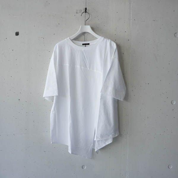 zampa(ザンパ) イレギュラーヘム8分袖プルオーバー