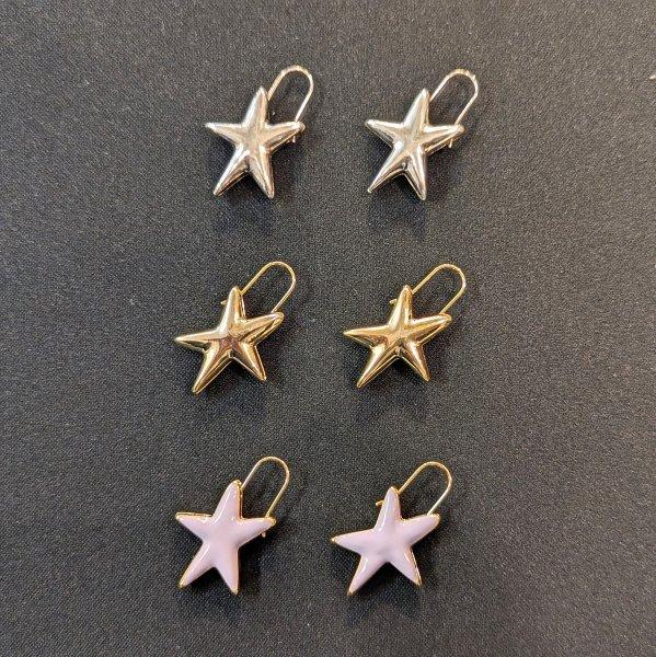 Lapuis(ラピュイ)Plump Star ピアス