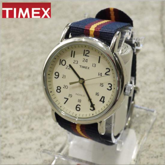 TIMEX (タイメックス) WEEKENDER CENTRAL PARK NAVY×WINE×YELLOW